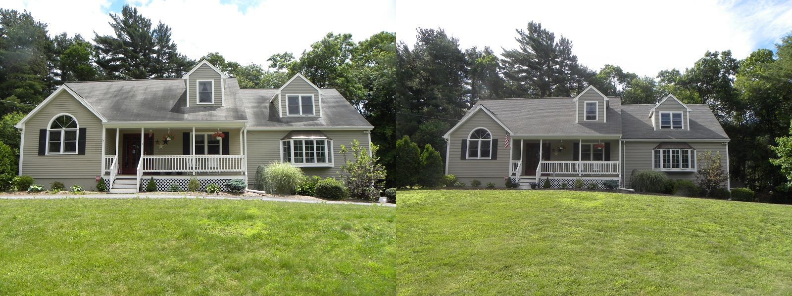 ... Before After Roof Cleaning Cape Cod Ma ...