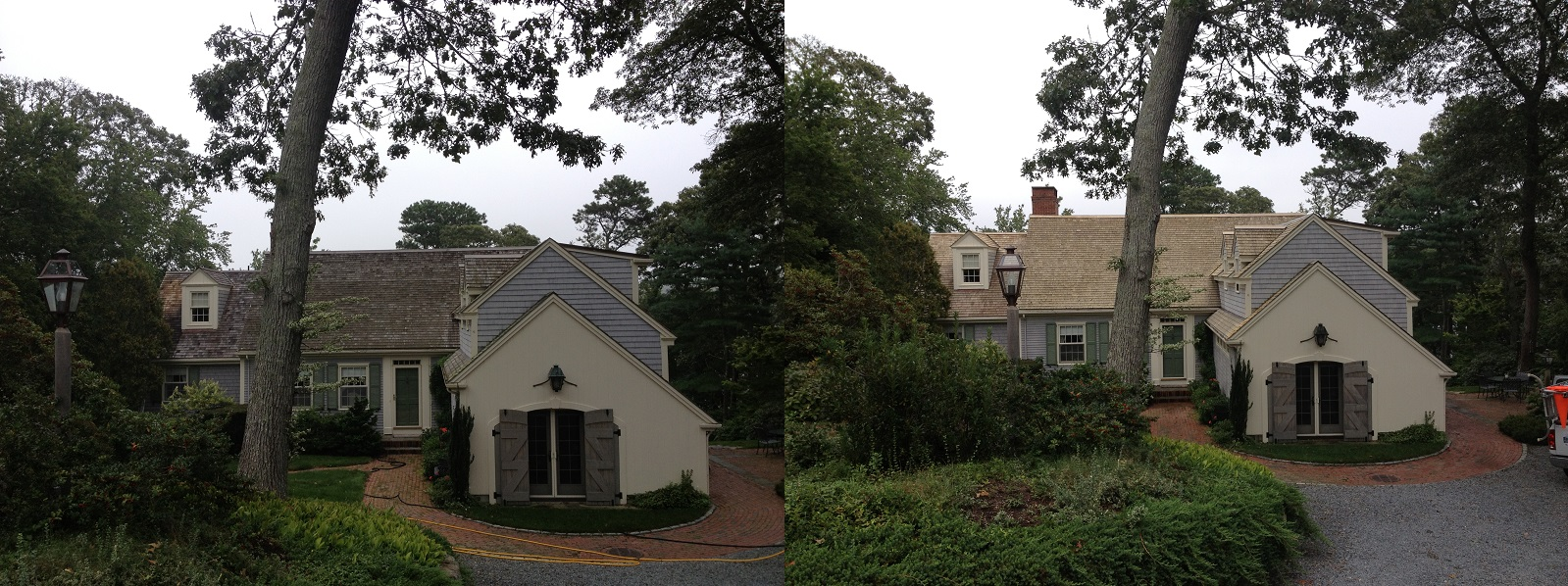 Roof Cleaning In Cape Cod Ma Softwash Roof Cleaner