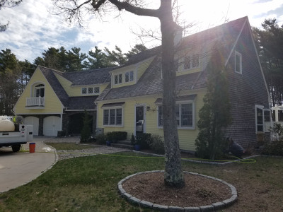 roof cleaning cape cod ma