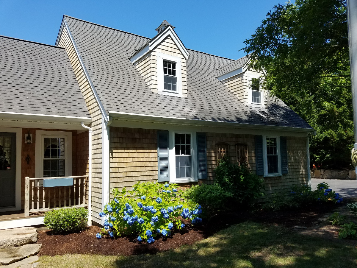 Roof Cleaning And Cedar Shingle Cleaning In Scraggy Neck