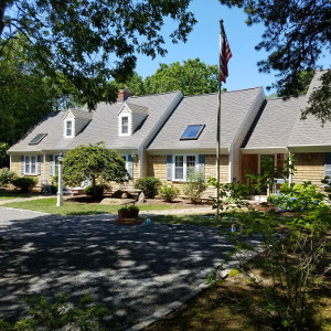 Roof cleaning and cedar shingle cleaning in Scraggy Neck, Falmouth, Ma