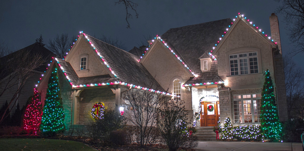 christmas and event lighting - Professional Christmas Decorators Cost