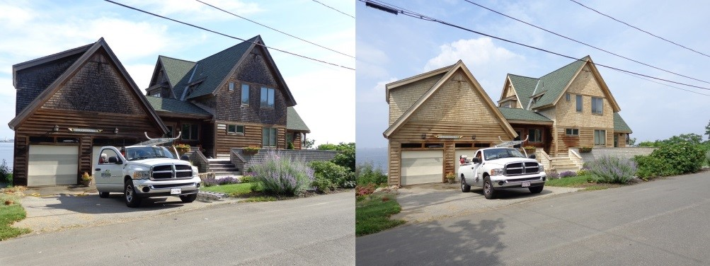 Cedar Roof Restoration cape cod ma